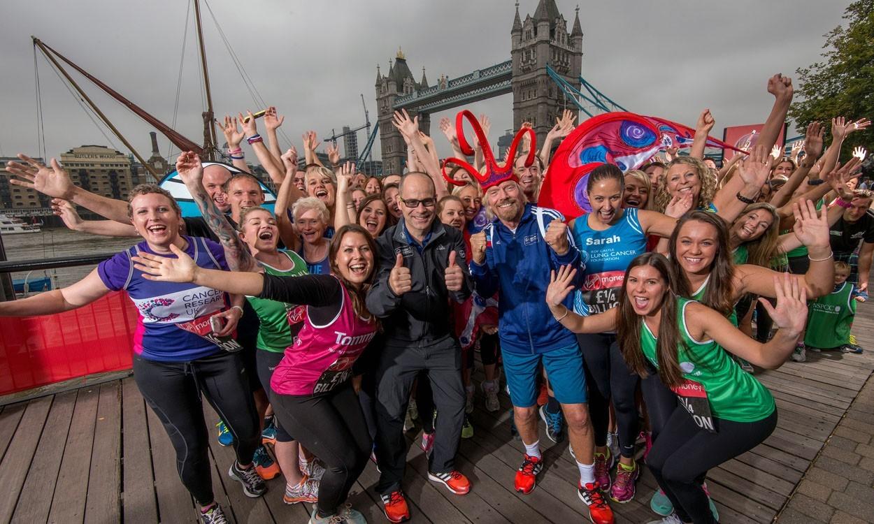 Charity fundraising milestone met by London Marathon