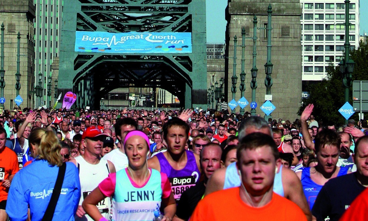 Great North Run well on the road to becoming the 'world's favourite run'