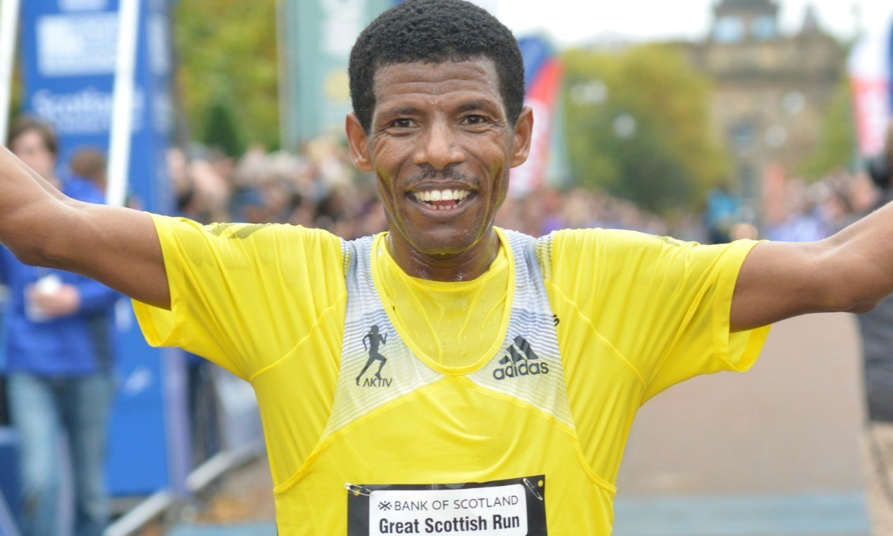 Gebrselassie to bid farewell to competitive running at Great Scottish Run