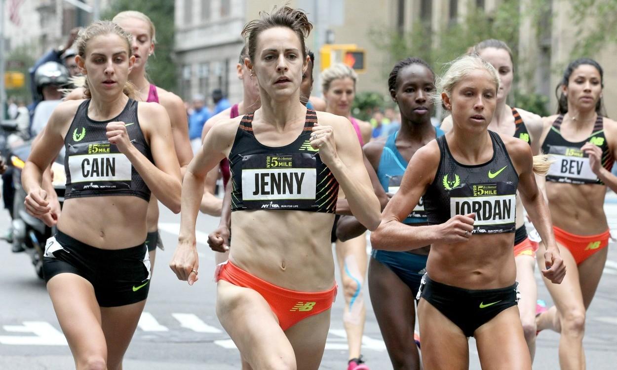 Jenny Simpson and Jordan McNamara win Fifth Avenue Mile