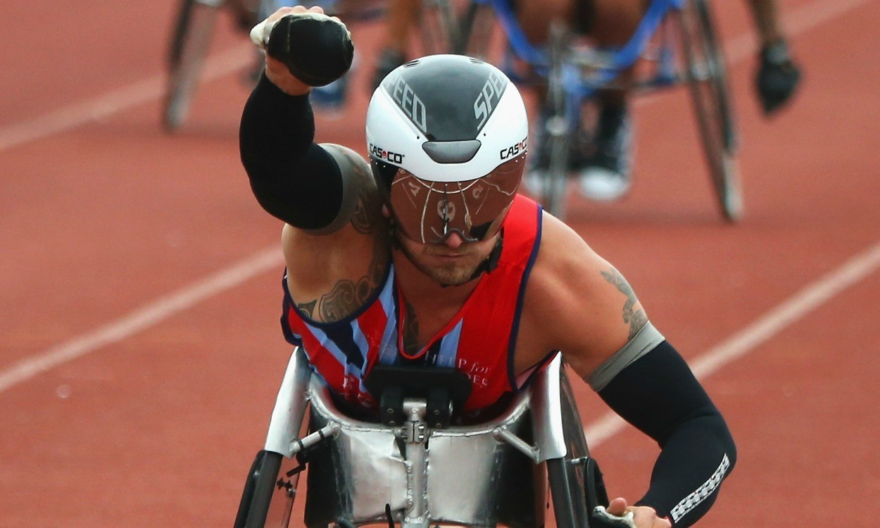 Joe Townsend wins award after six Invictus Games medals