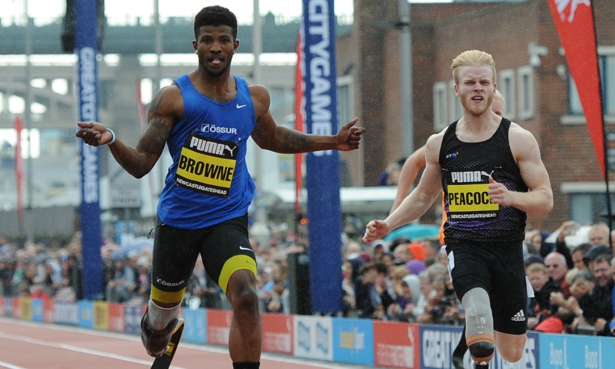Richard Browne targets sub-21 200m in 2015