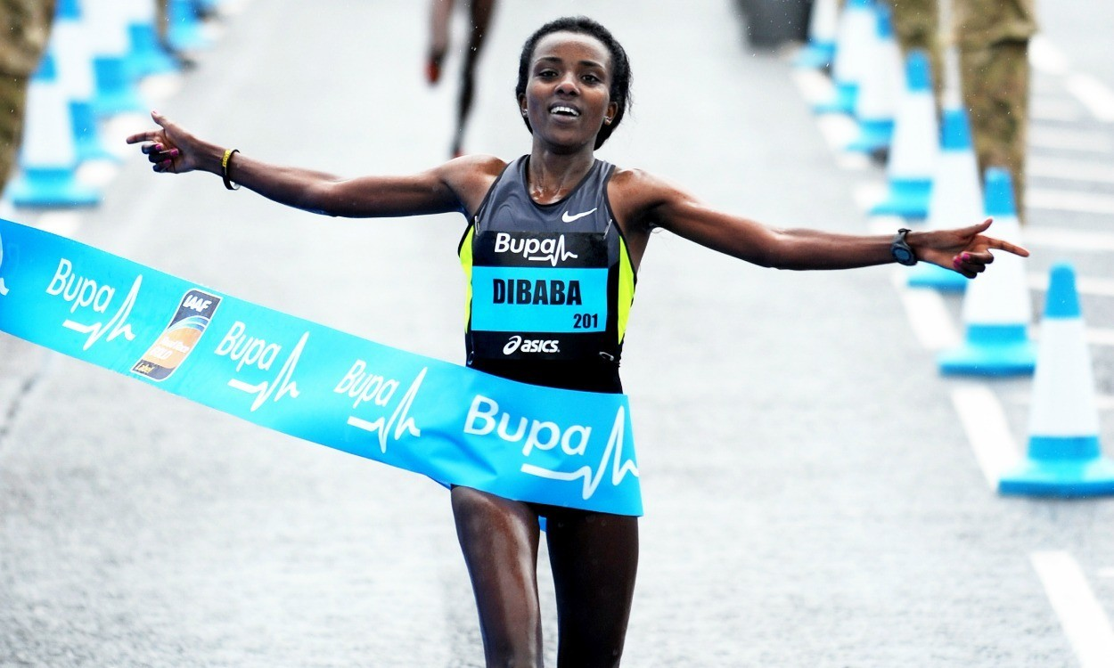 Tirunesh Dibaba targets Great Scottish and Great South Run double