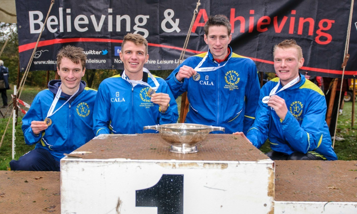 Central AC dominant at Scottish cross country relays