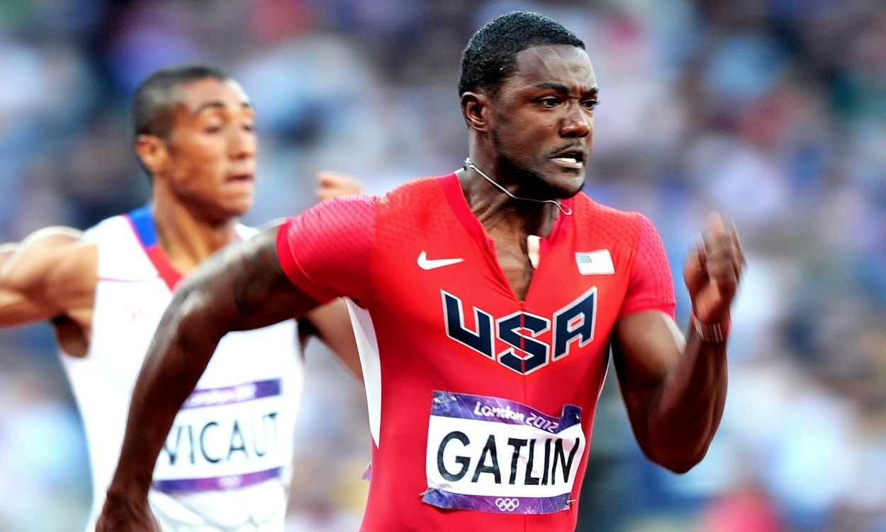 Justin Gatlin in new sponsorship deal with Nike