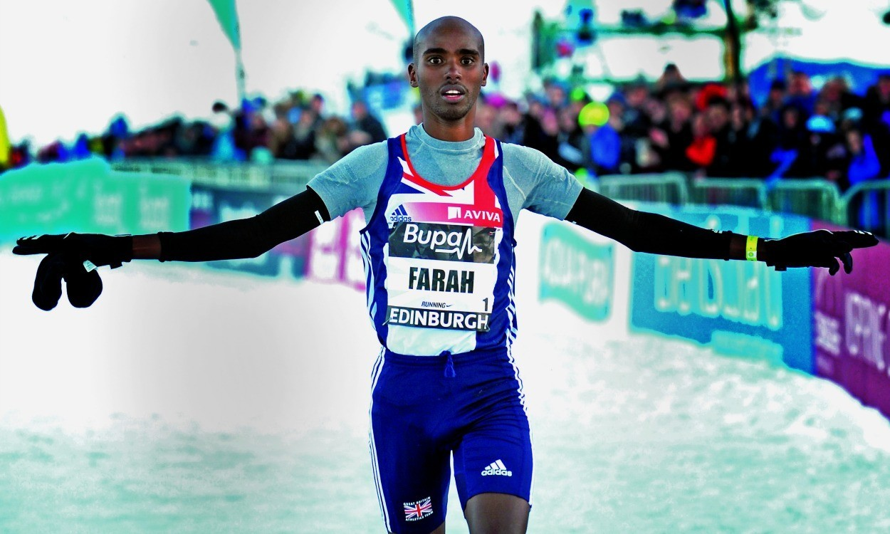 Mo Farah withdraws from Great Edinburgh Cross Country