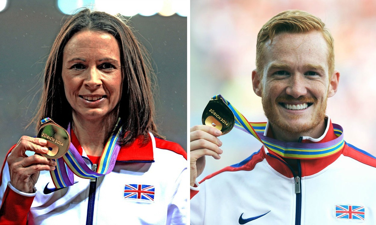 Jo Pavey and Greg Rutherford are BAWA athletes of the year