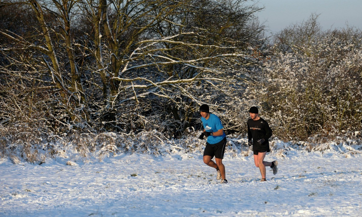 Keep running in December with AdventRunning