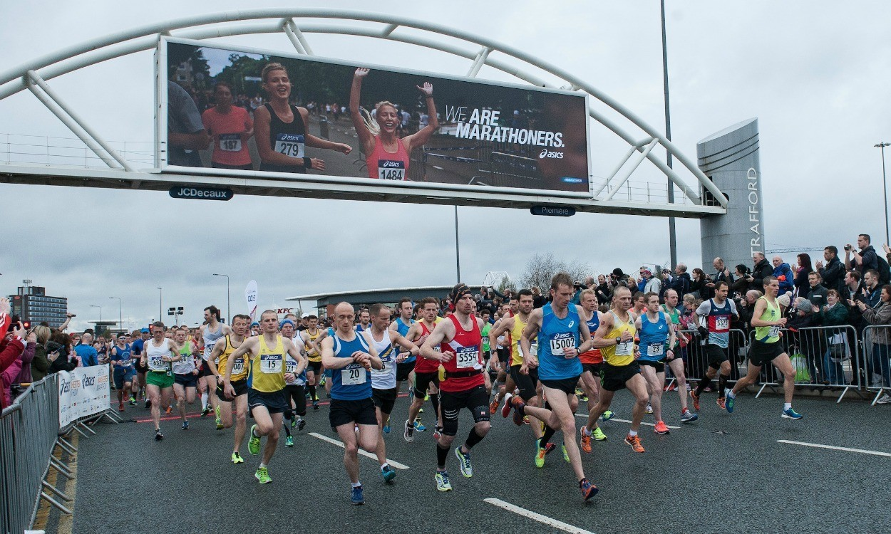 Could you be an ASICS Greater Manchester Marathon ambassador?