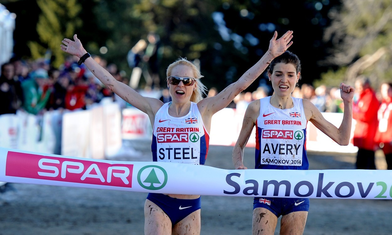 Gemma Steel and Andrew Butchart on GB World Cross team