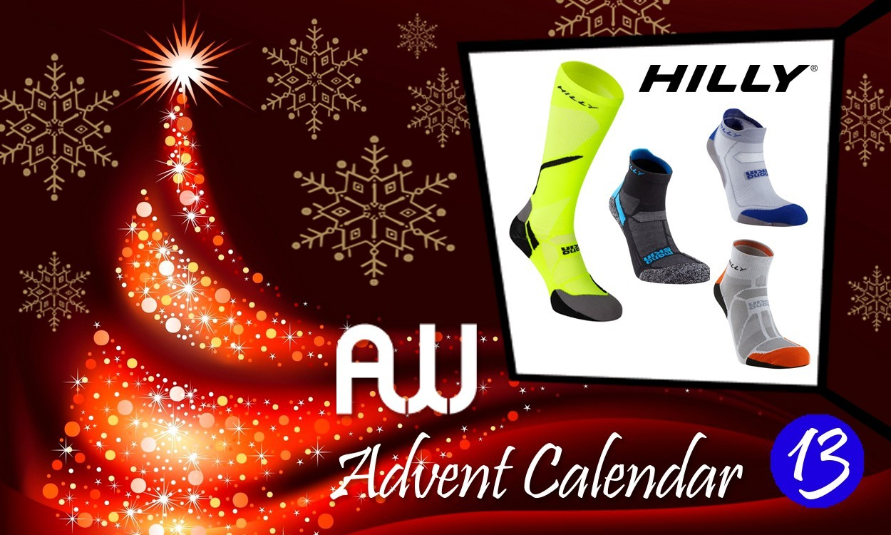 Win a year's supply of Hilly socks