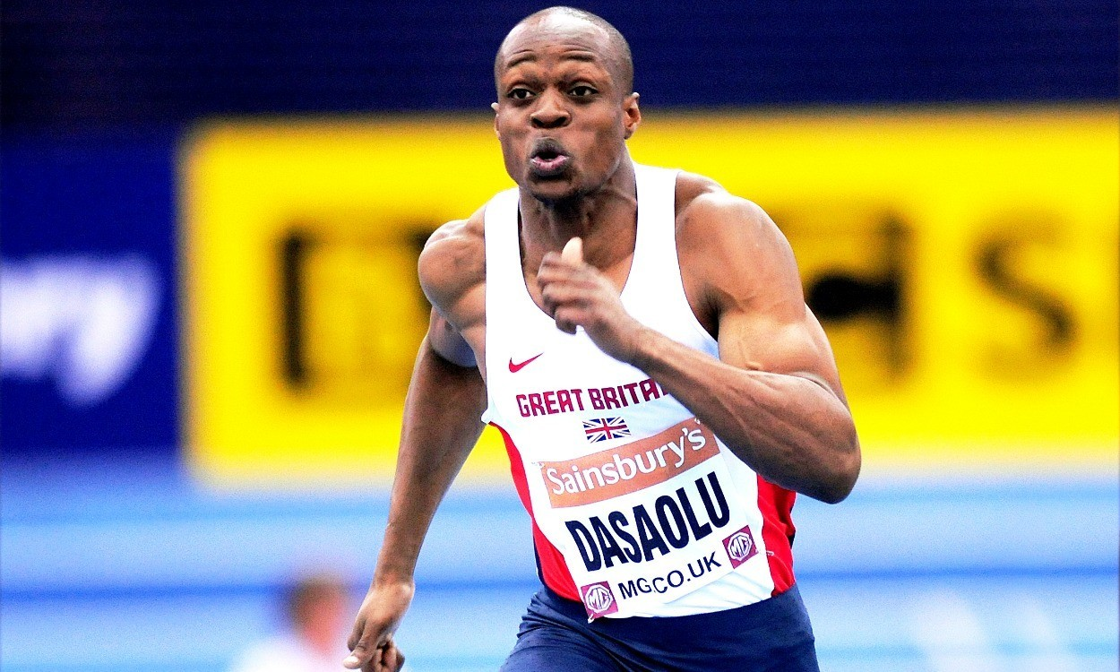 James Dasaolu and Asha Philip to run at Sainsbury's Indoor Grand Prix