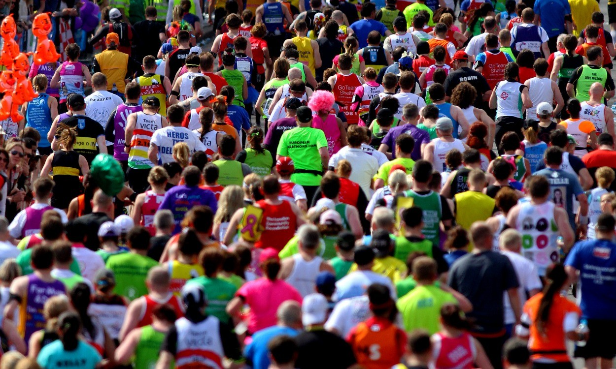 Race director Hugh Brasher on the London Marathon