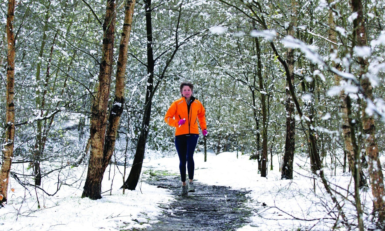 Cold snap boosts running performance