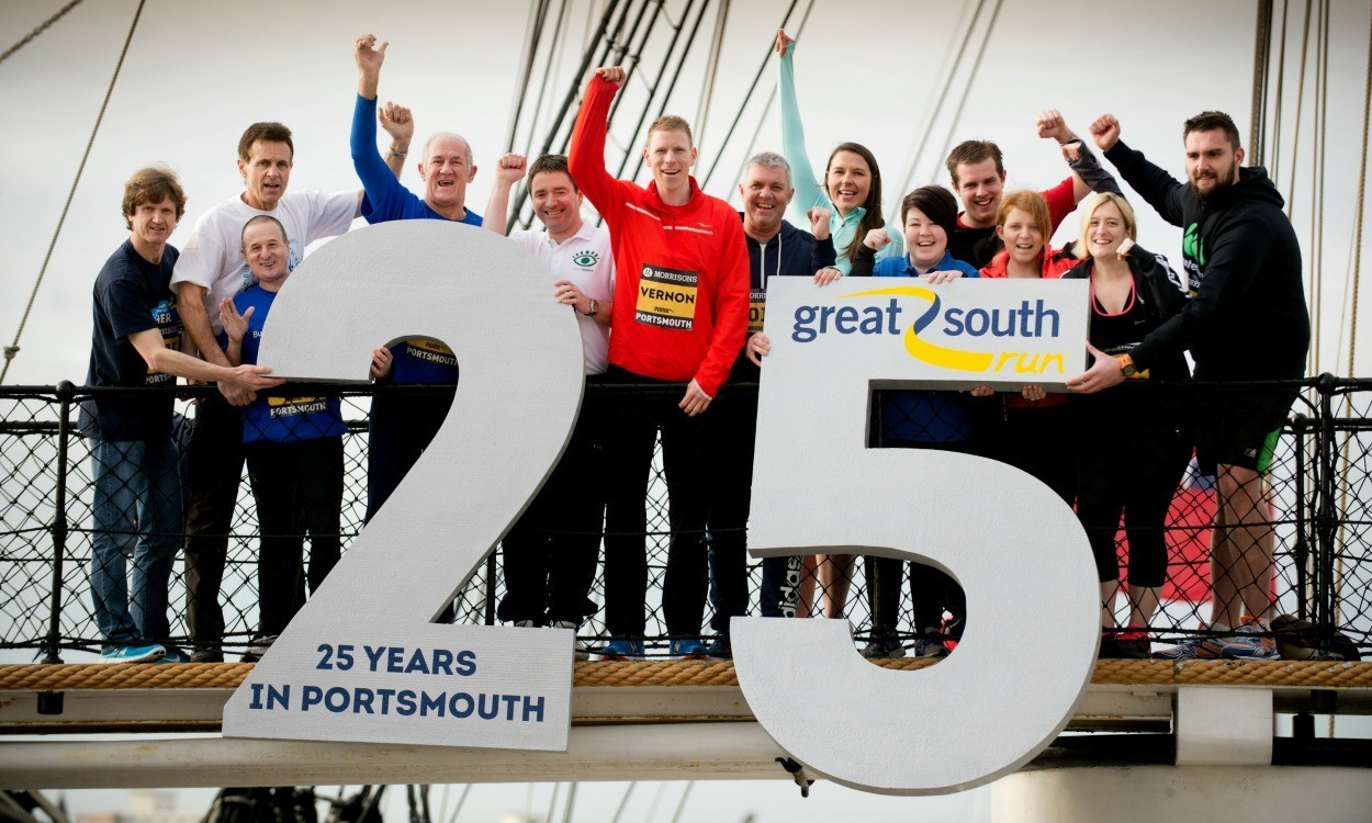 Andy Vernon launches 2015 Morrisons Great South Run