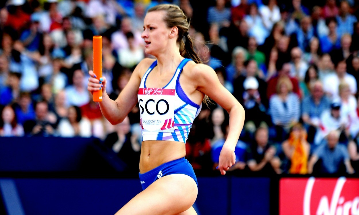 Kirsten McAslan and Richard Kilty among winners in Glasgow