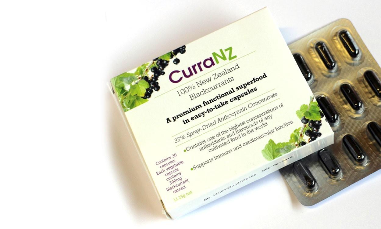 CurraNZ New Zealand Blackcurrant supplement