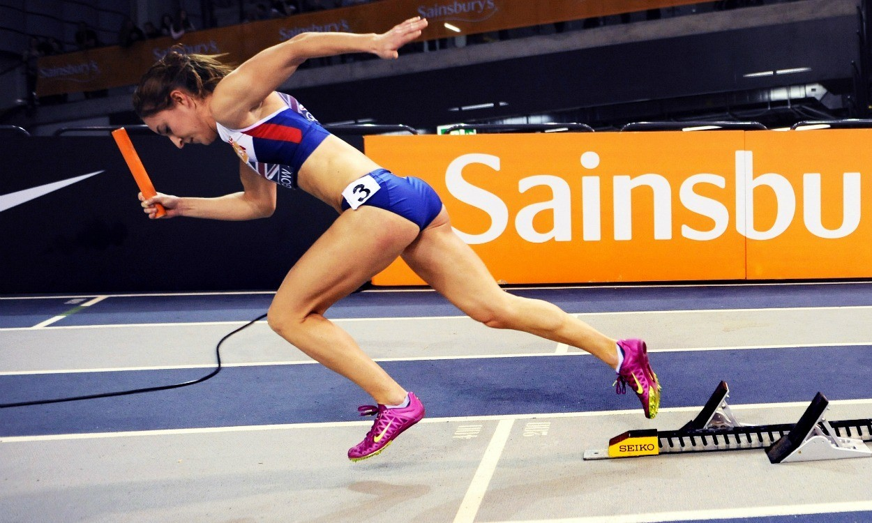 How they train – Emily Diamond