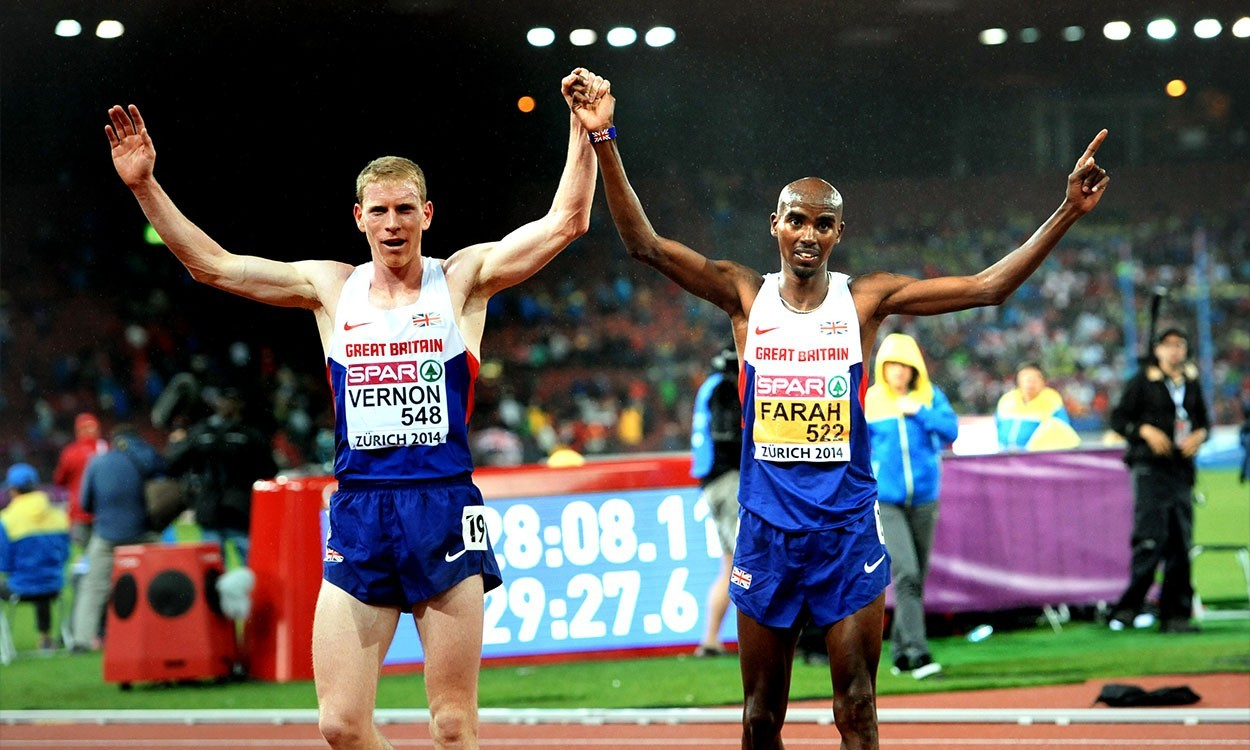 Andy Vernon and Mo Farah offer feud for thought