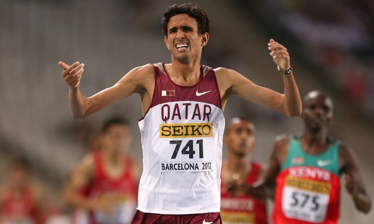 Former world junior 1500m champion Hamza Driouch banned for doping