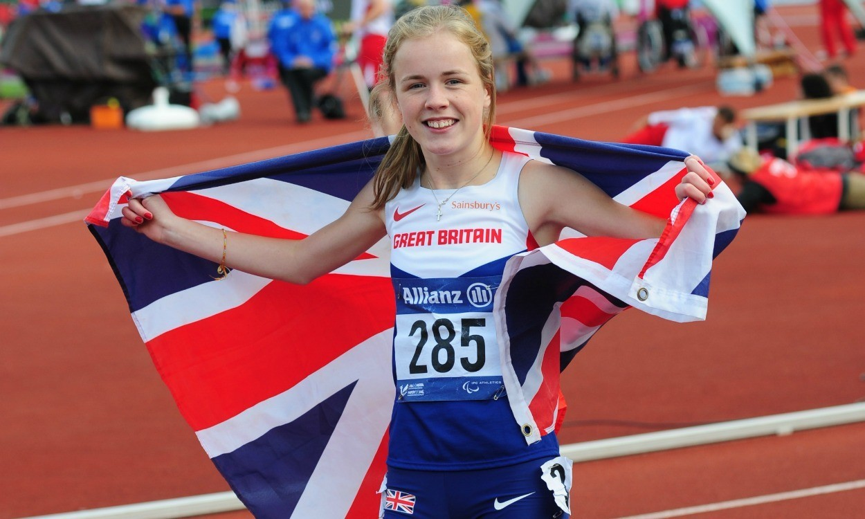 Maria Lyle and Jo Butterfield set world records in Dubai
