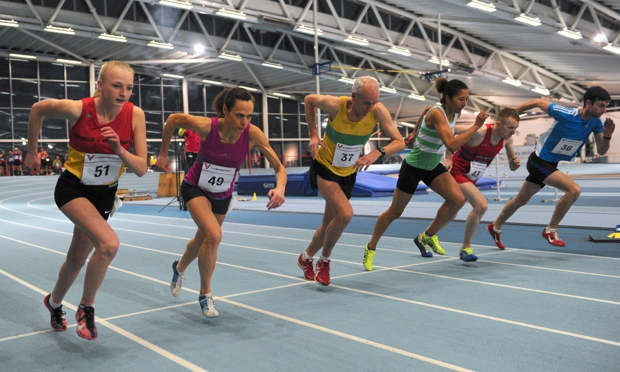 Clare Elms and Ros Tabor set world age group indoor mile records