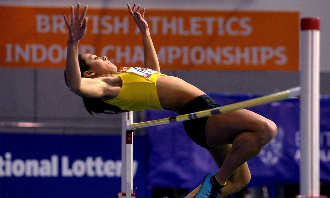 Katarina Johnson-Thompson to defend British title