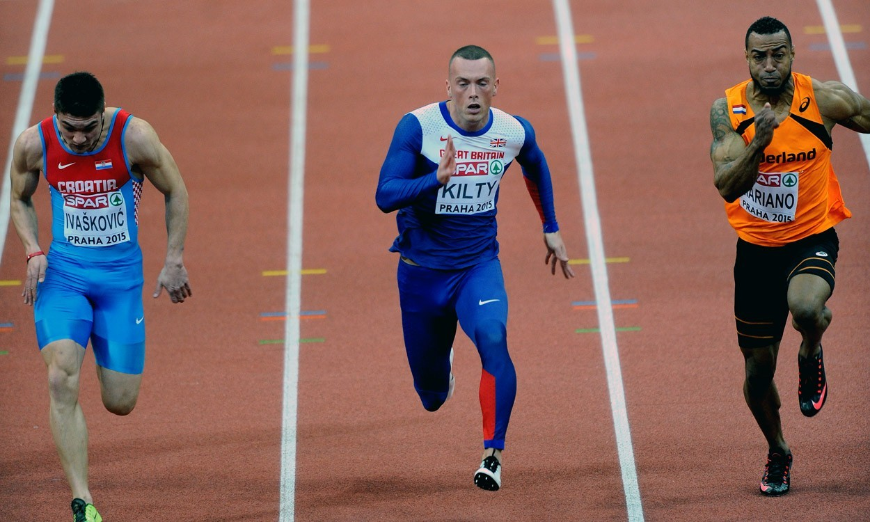 Richard Kilty, CJ Ujah and Dina Asher-Smith quick off their marks in Prague