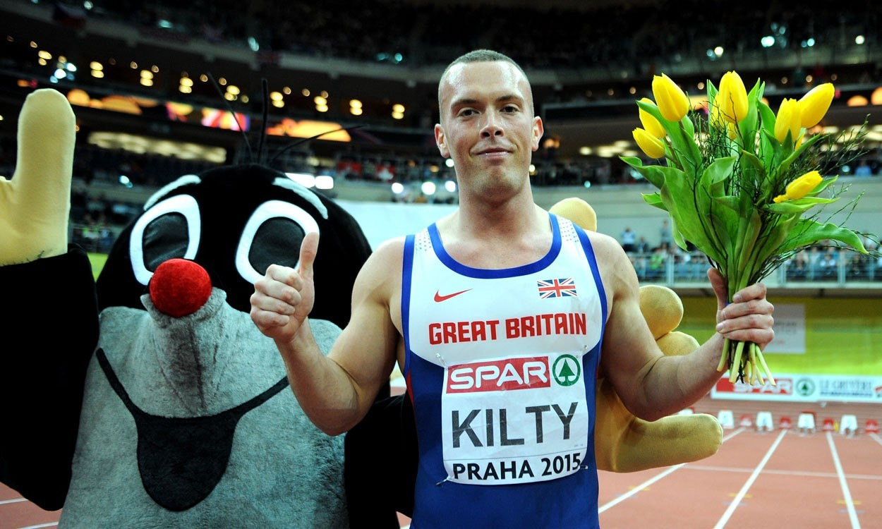 Richard Kilty set for Scottish Championships