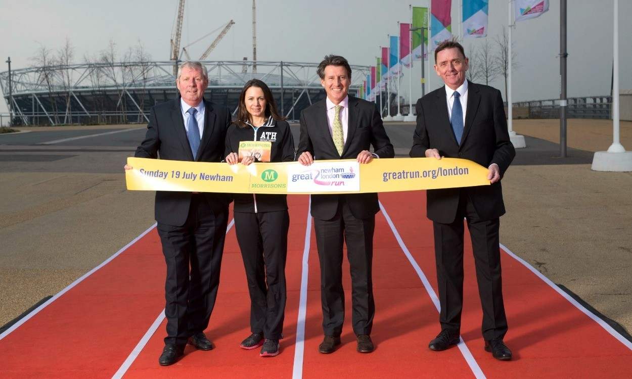 Great Newham London Run launches at Queen Elizabeth Olympic Park