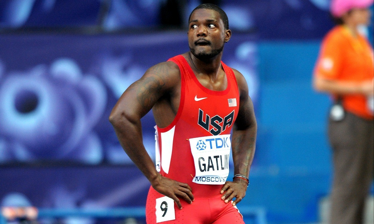 Justin Gatlin could be ineligible for IAAF Athlete of the Year award