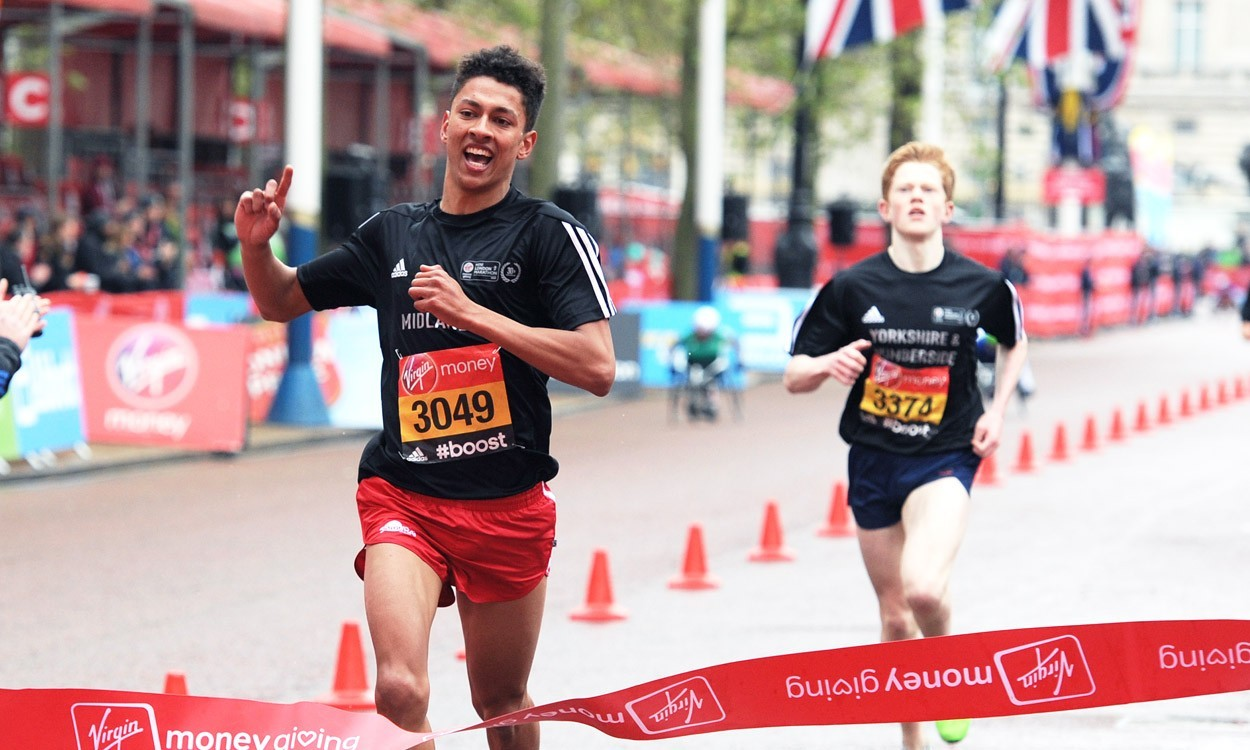 Ben Dijkstra among Mini London Marathon winners