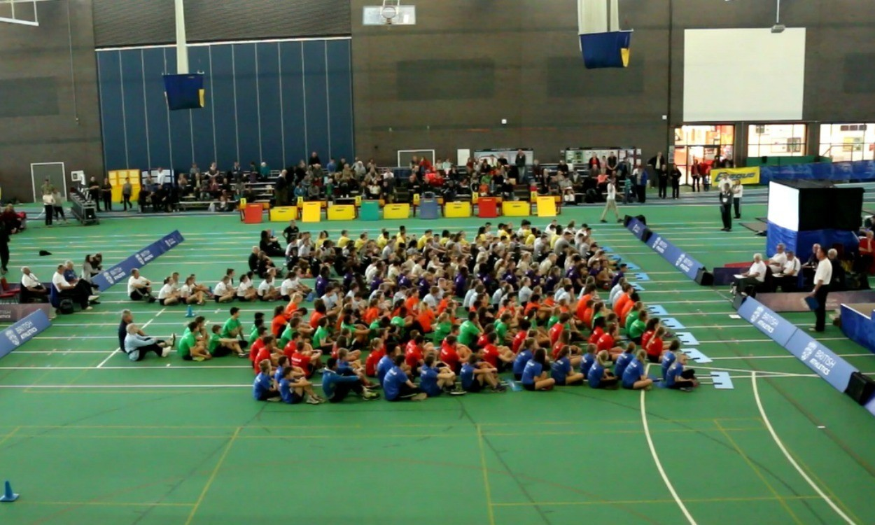 Sportshall finale for UK's young athletes