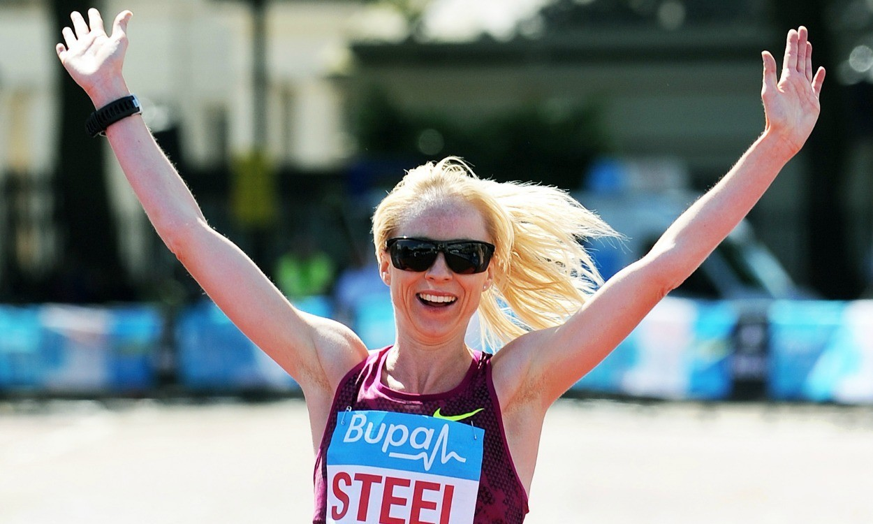 Gemma Steel and Japhet Korir win Great Ireland Run
