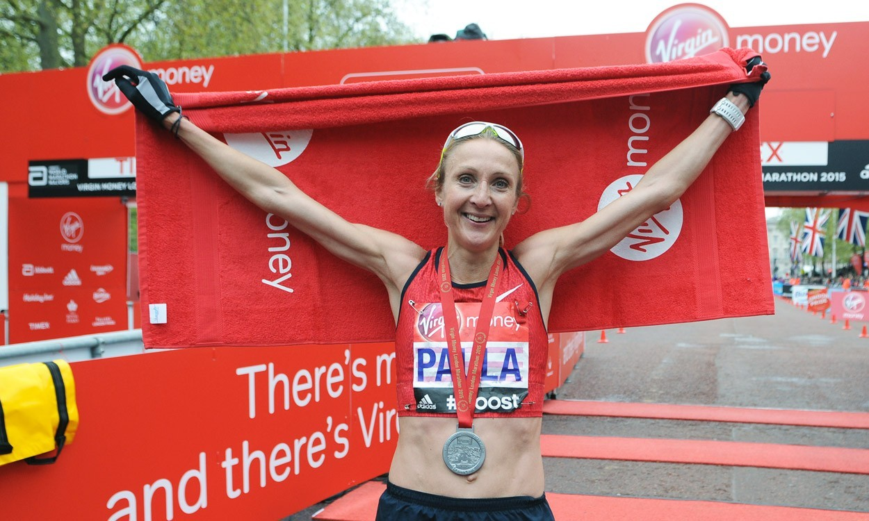 Paula Radcliffe makes emotional marathon farewell in London