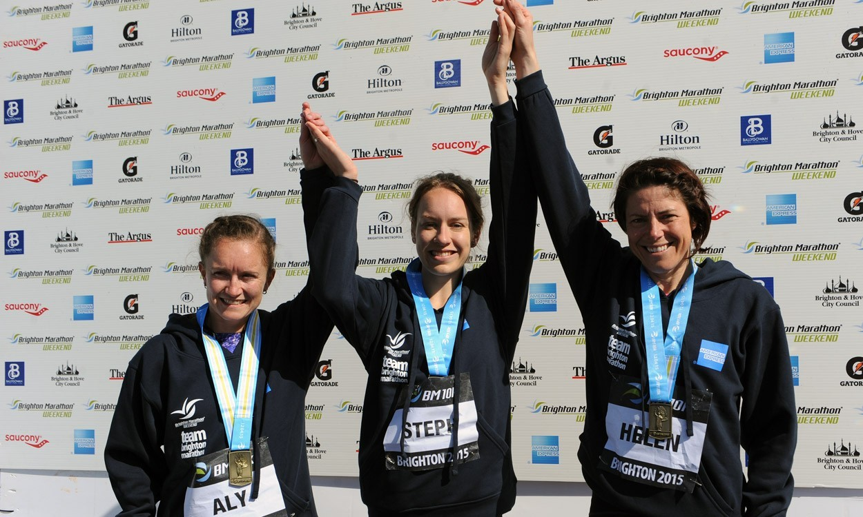 Steph Twell among winners on Brighton Marathon weekend