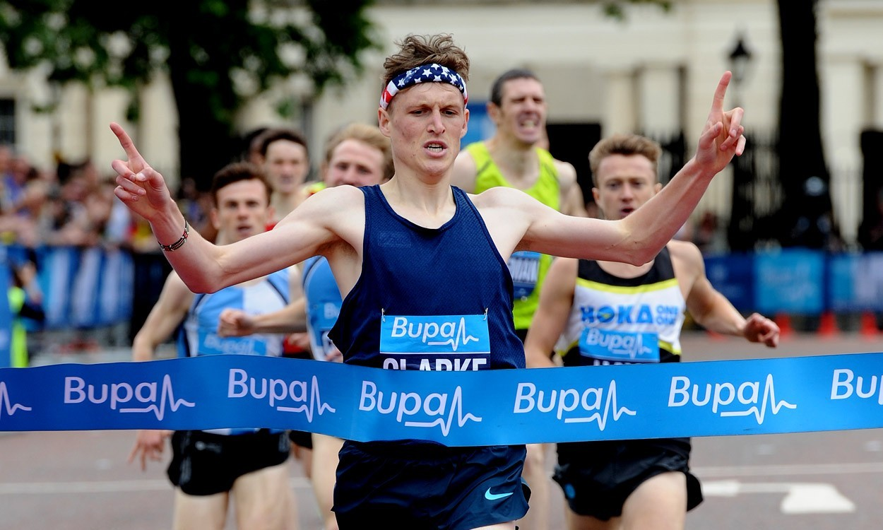 Adam Clarke and Racheal Bamford among Westminster Mile winners