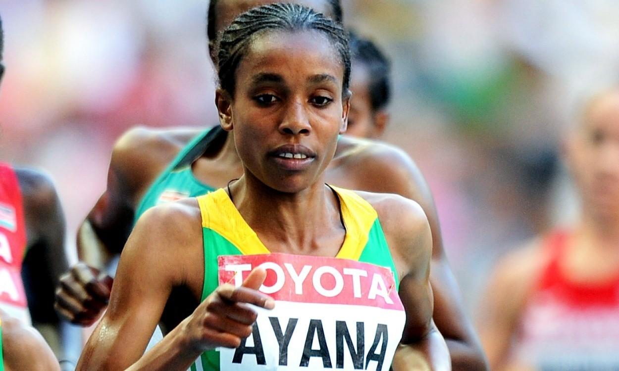 Almaz Ayana runs fifth-fastest ever 5000m in Rabat