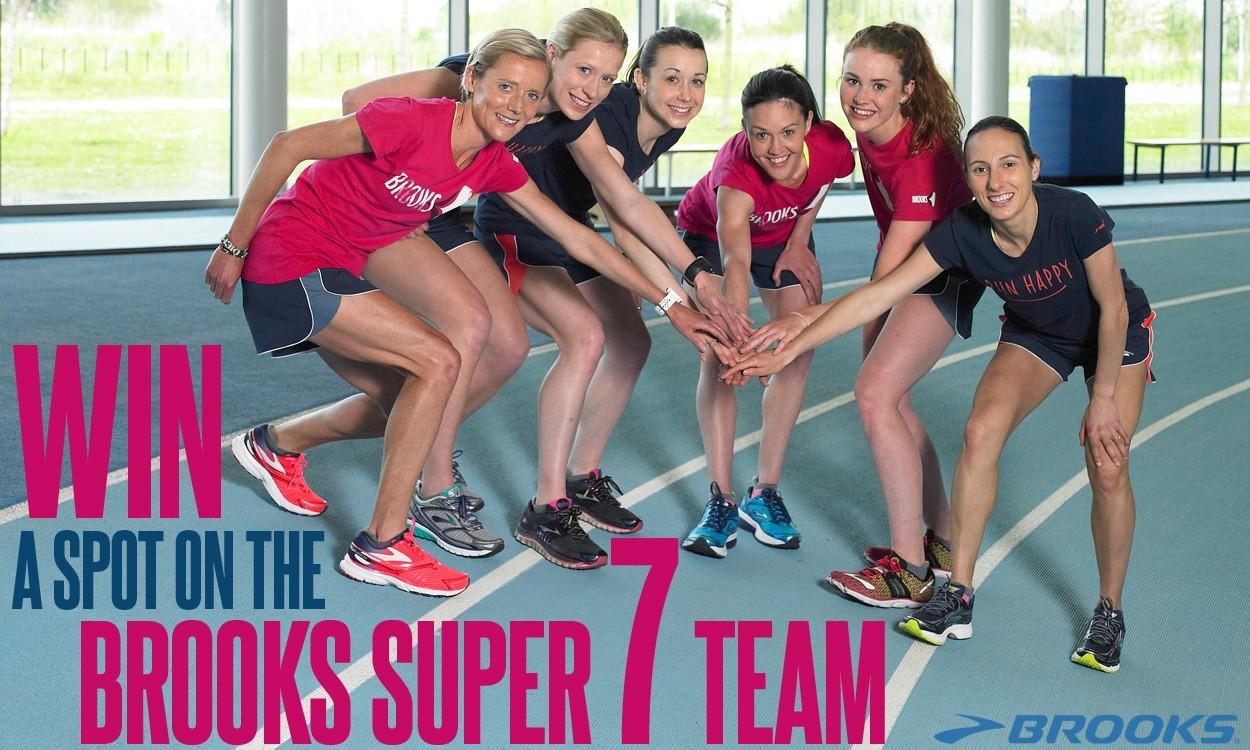 Win a spot on the Brooks Super 7 Team