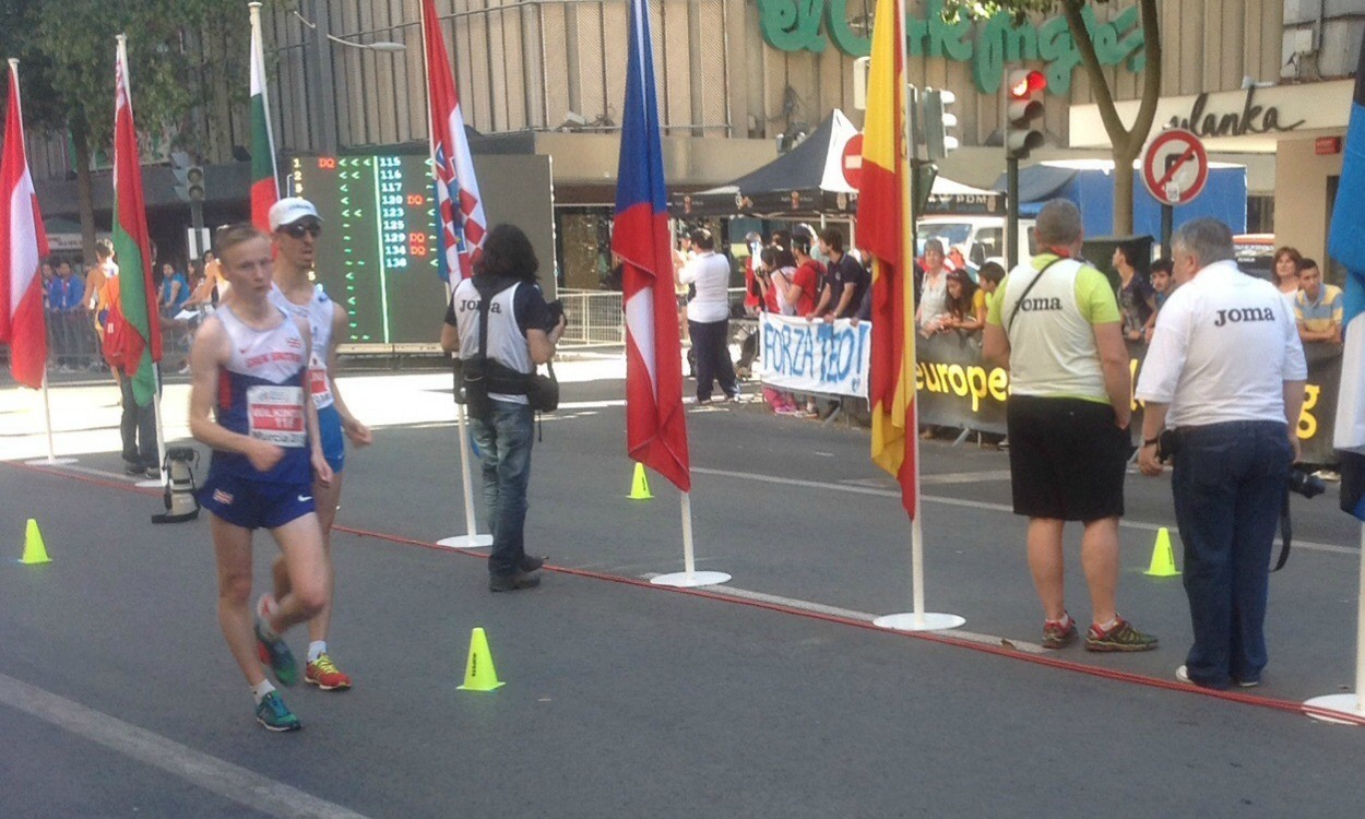 GB junior men's team places sixth at European Race Walking Cup