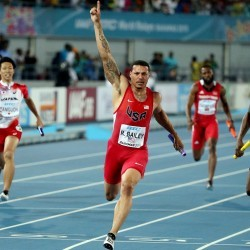 World Relays US beat Jamaica by Getty