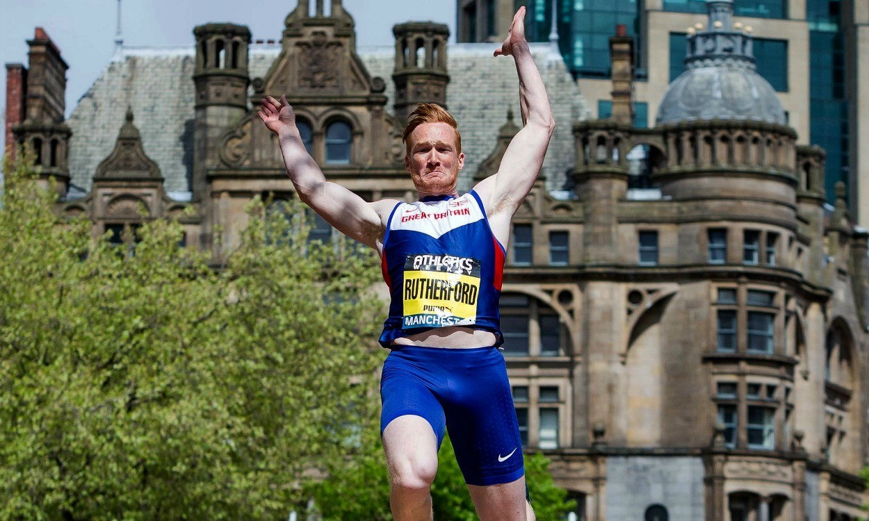 Greg Rutherford reveals plans for 'Garden Gala'