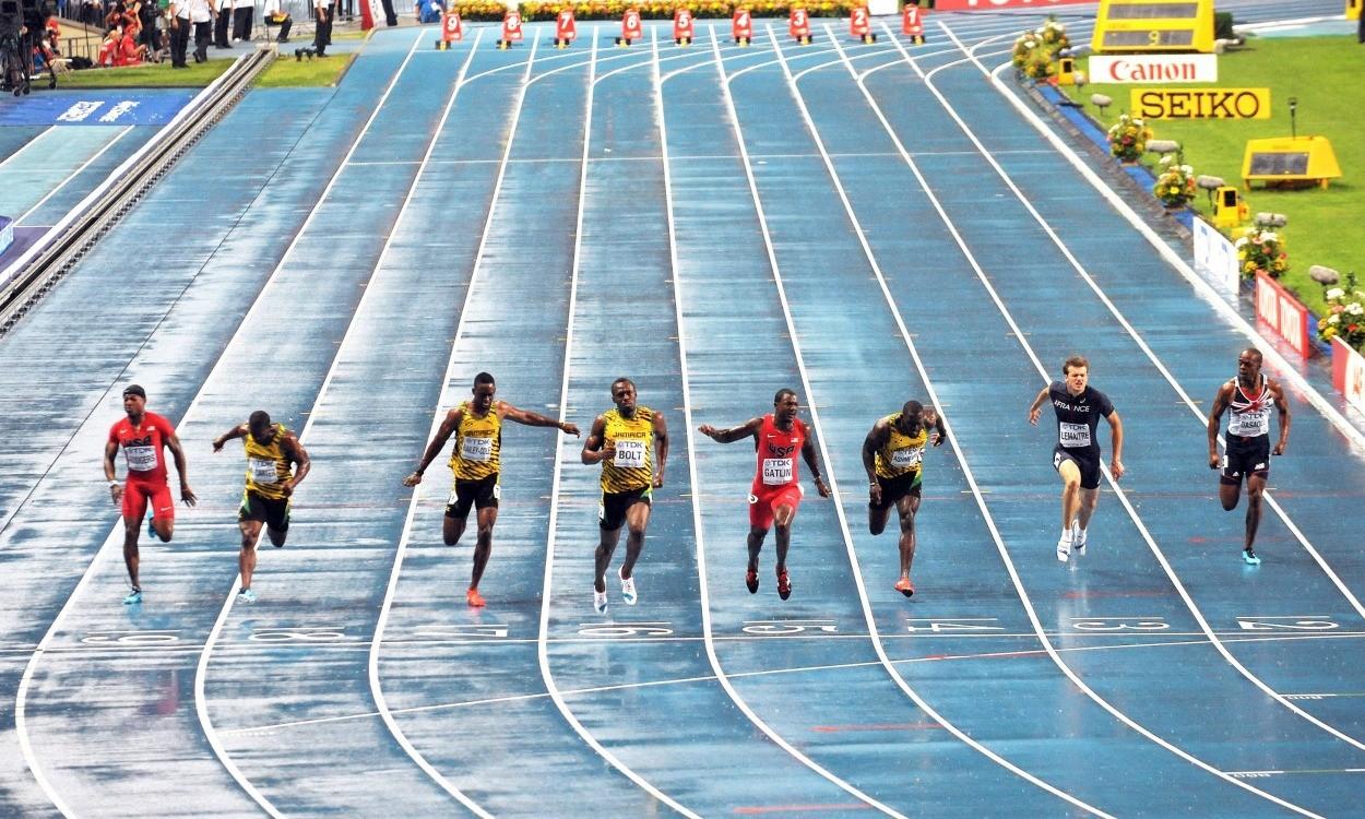 World Championships: Men's 100m/200m