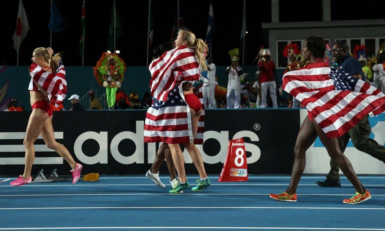 USA retains golden baton at IAAF World Relays
