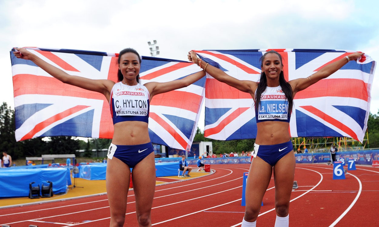 Five medals for Britain on day two at European Juniors