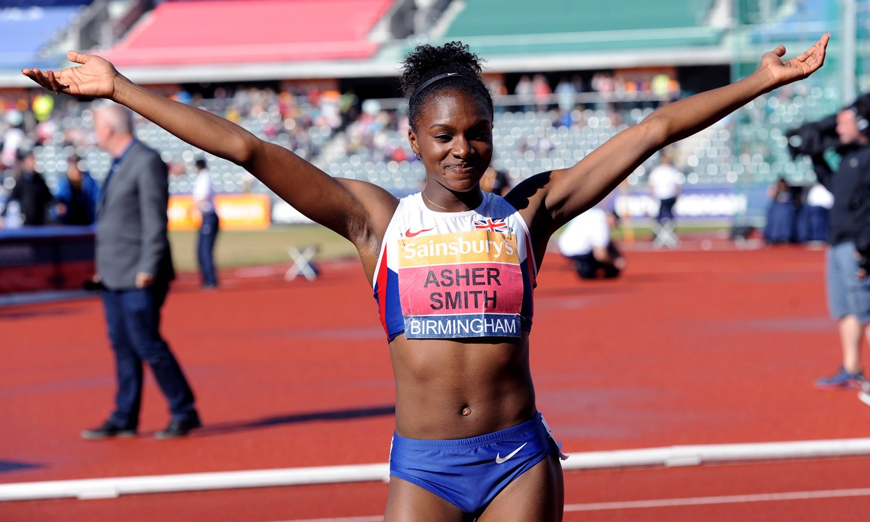 Dina Asher-Smith and CJ Ujah fly to UK titles
