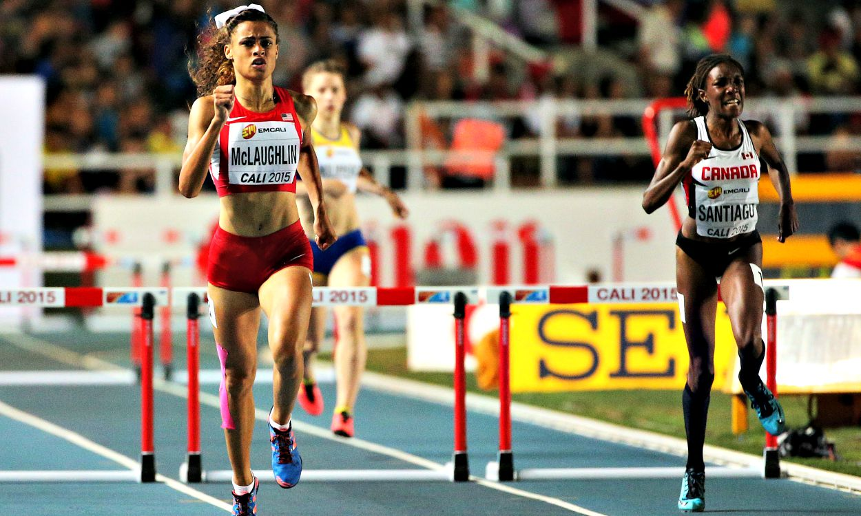 McLaughlin and Grimes win hurdles gold at World Youth Champs