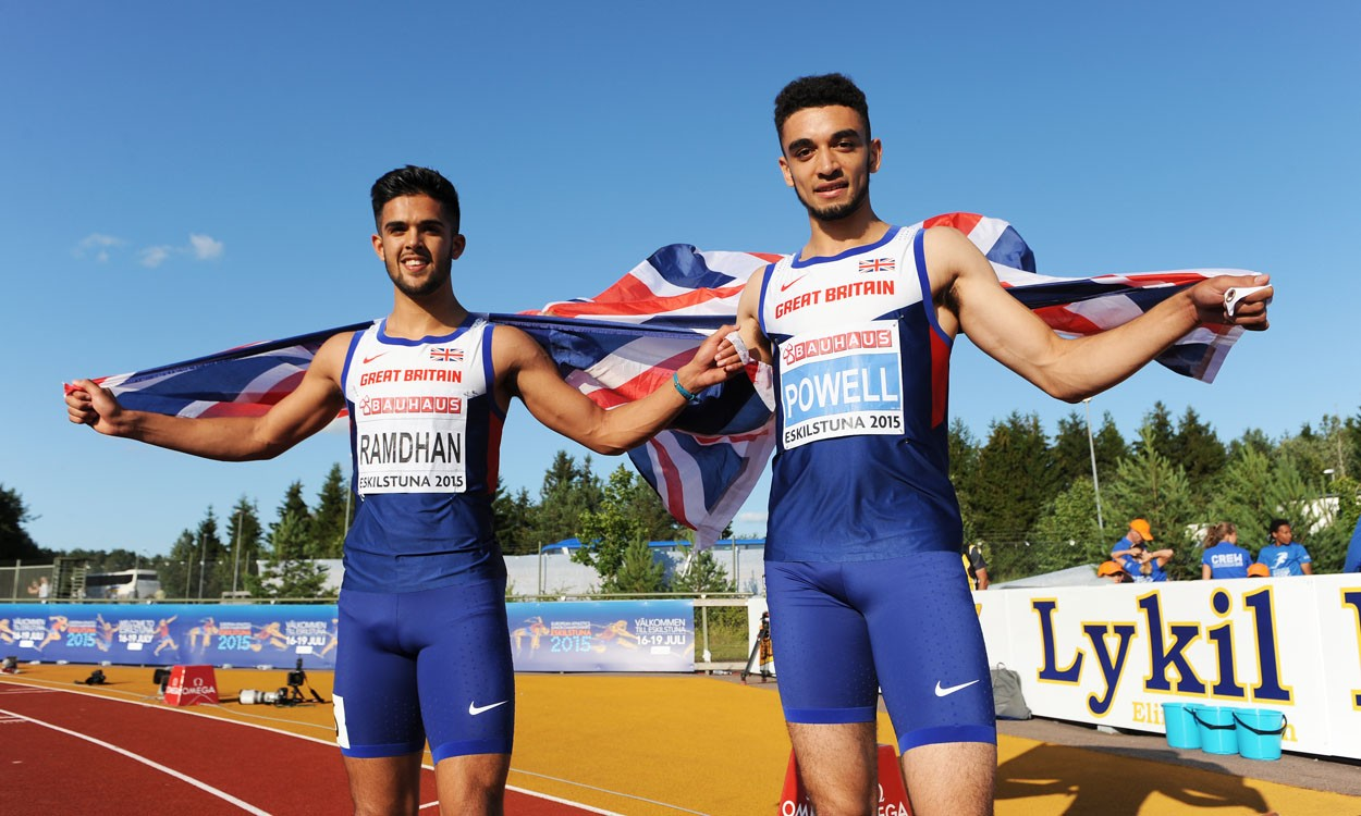 Britain's athletes continue to shine in Sweden