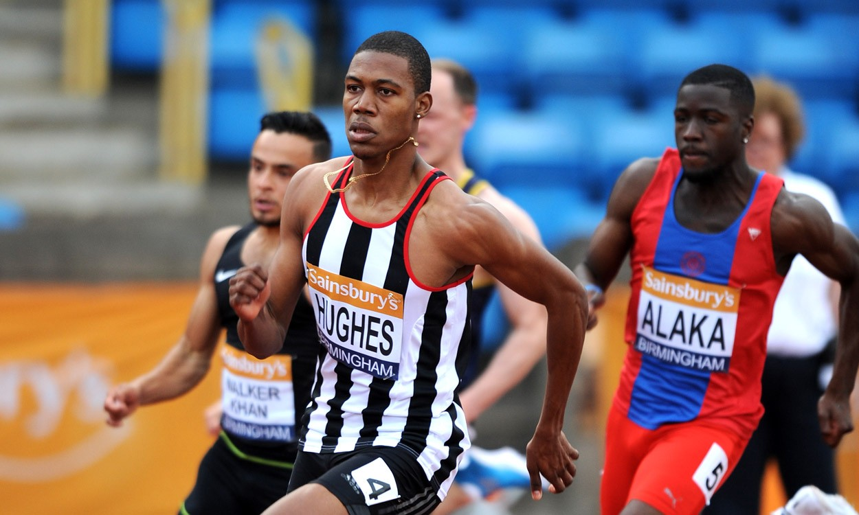Hughes quickest in 200m heats at British Championships