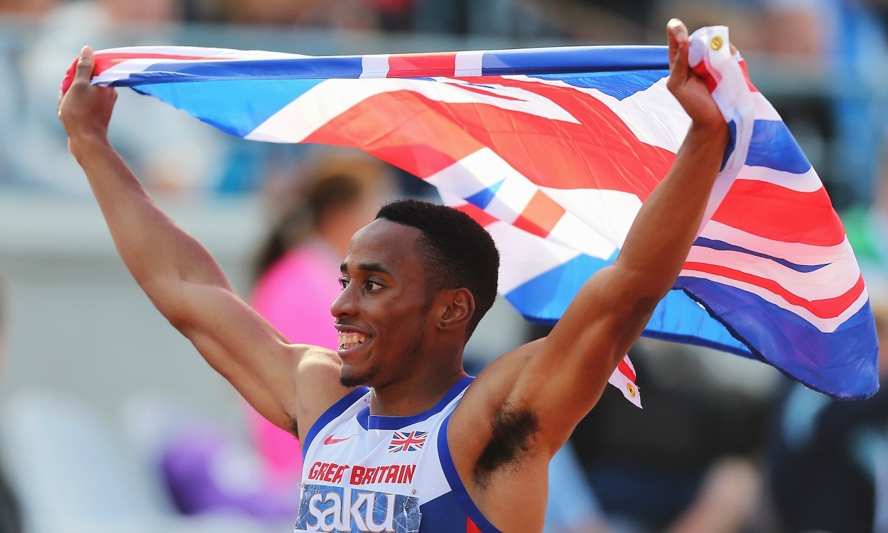 David Omoregie storms to Euro under-23 sprint hurdles gold